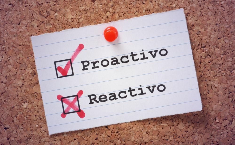 Proactivo vs Reactivo Reputacion